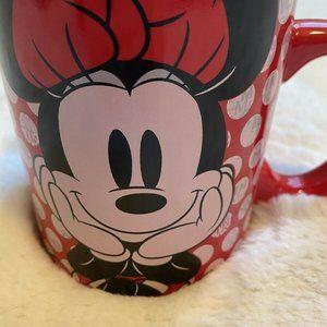 NEW Minnie Mouse Fan Disney 20 oz Mug Ceramic Cup